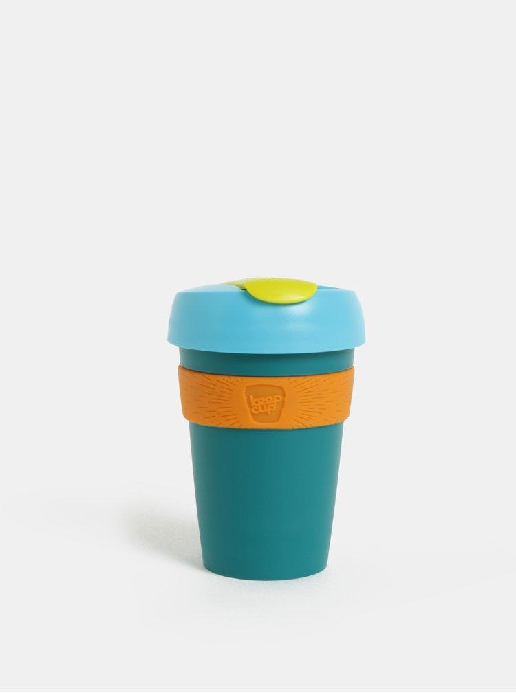 Zeleno-oranžový cestovní hrnek KeepCup Original Six