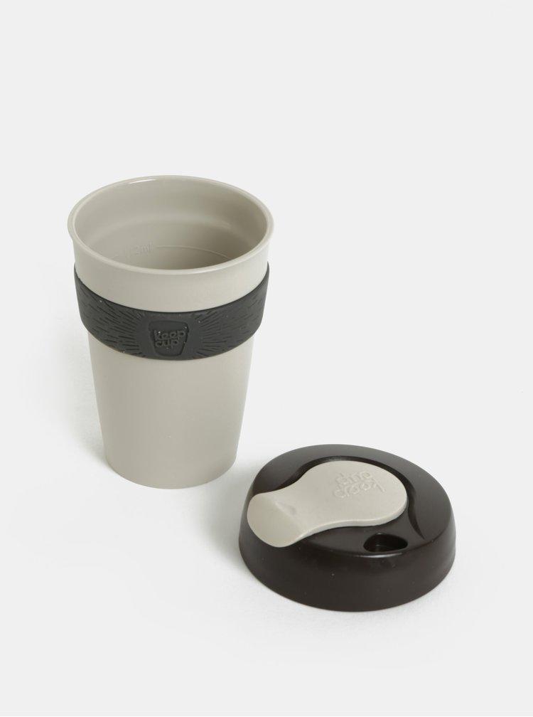 Hnědo-šedý cestovní hrnek KeepCup Original Six