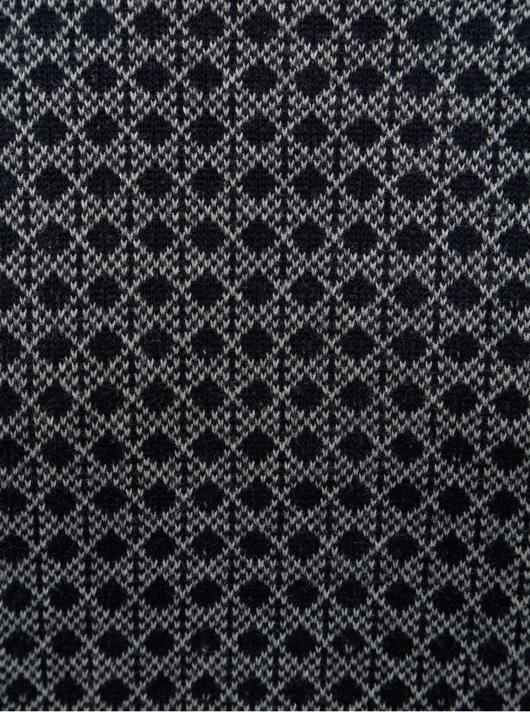 Krémovo-modrý regular svetr Blend