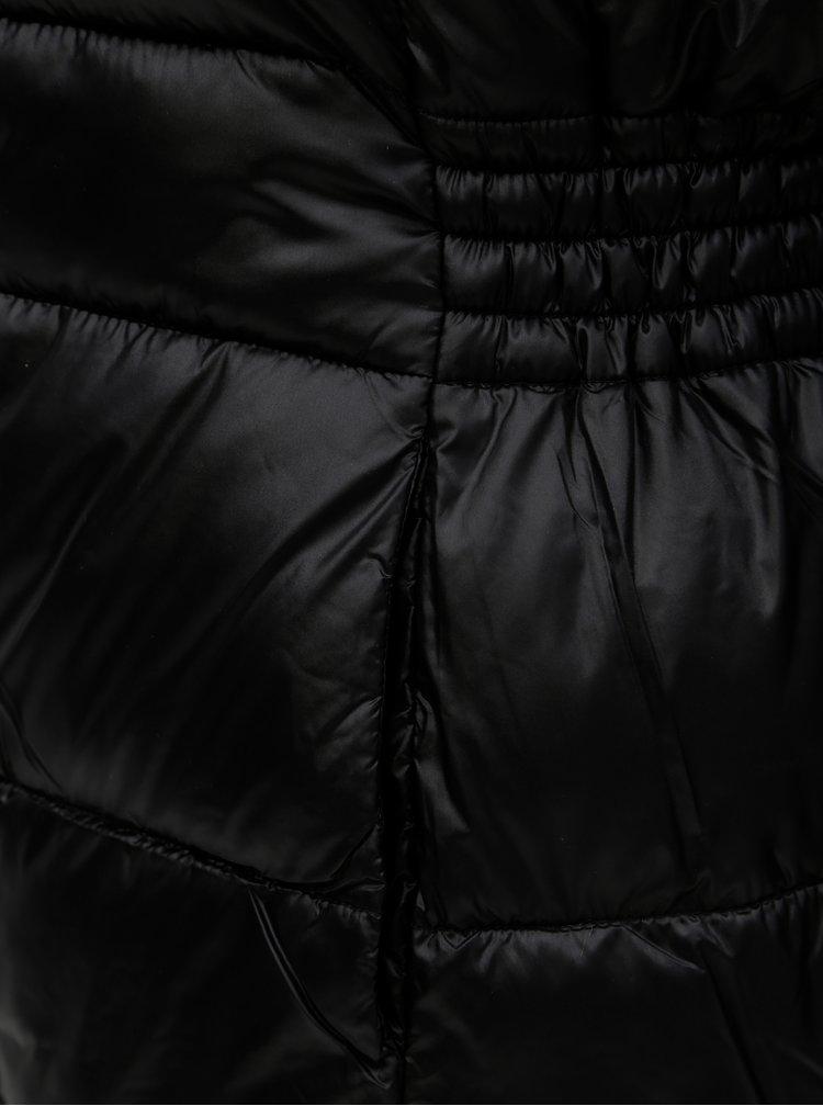 Černá lehká prošívaná bunda Dorothy Perkins
