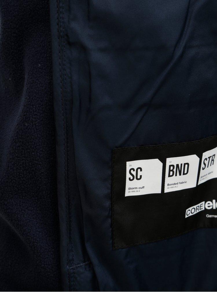 Jacheta matlasata albastru inchis cu gluga Jack & Jones