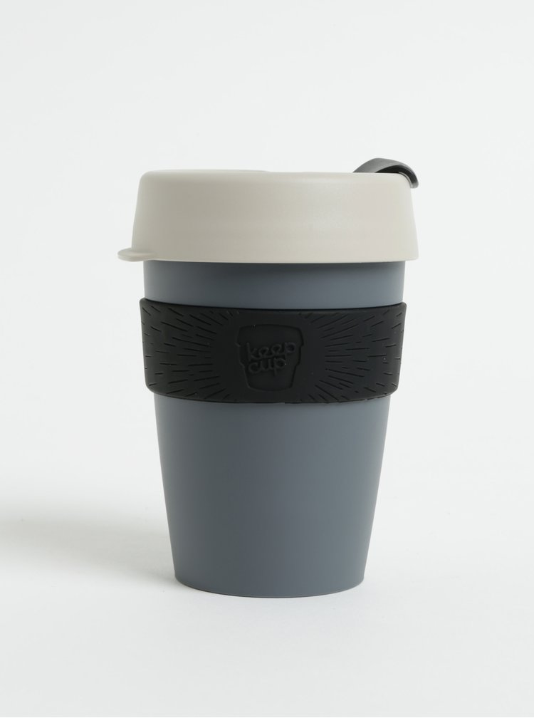 Cana de calatorie gri inchis KeepCup Original Medium