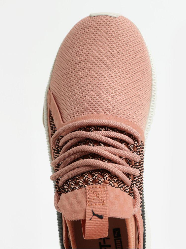 Pantofi sport de dama roz deschis Puma Tsugi Netfit