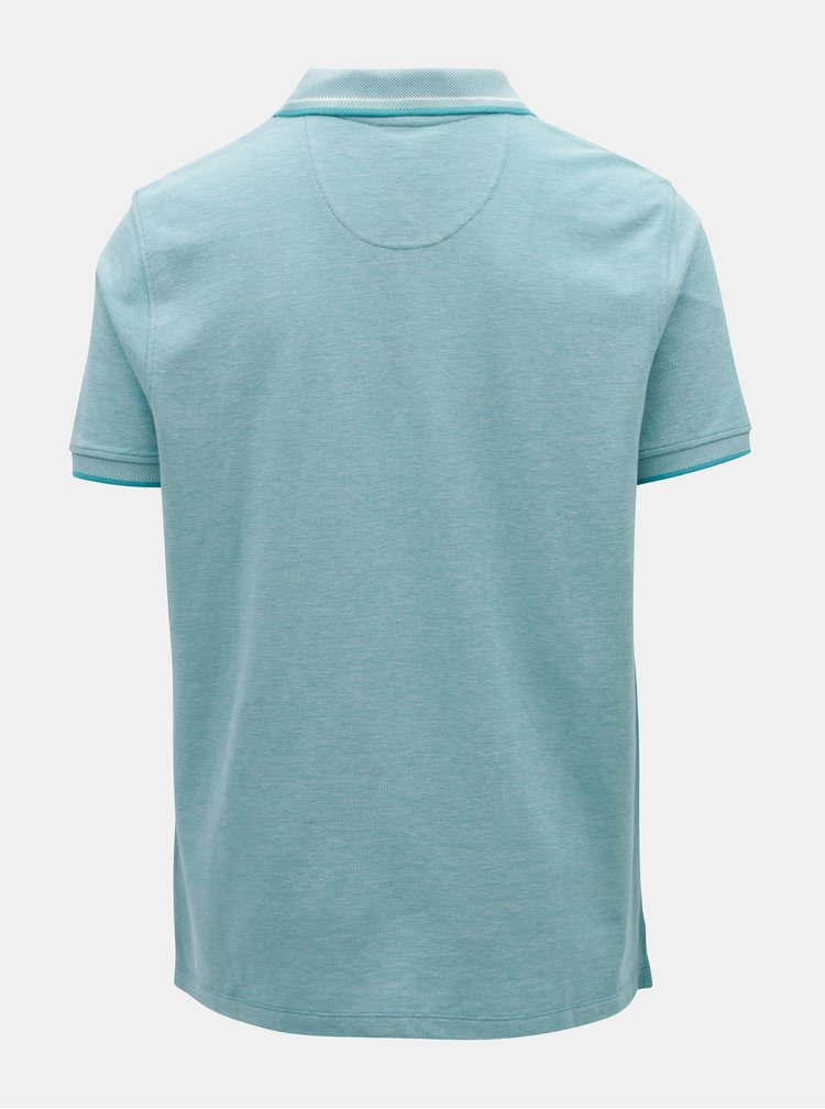 Tyrkysové polo tričko Burton Menswear London