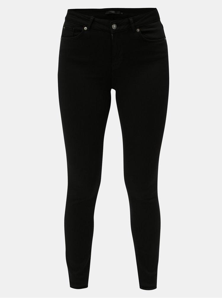 Černé skinny džíny VERO MODA Lux