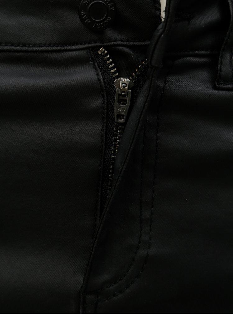 Černá džínová minisukně Noisy May