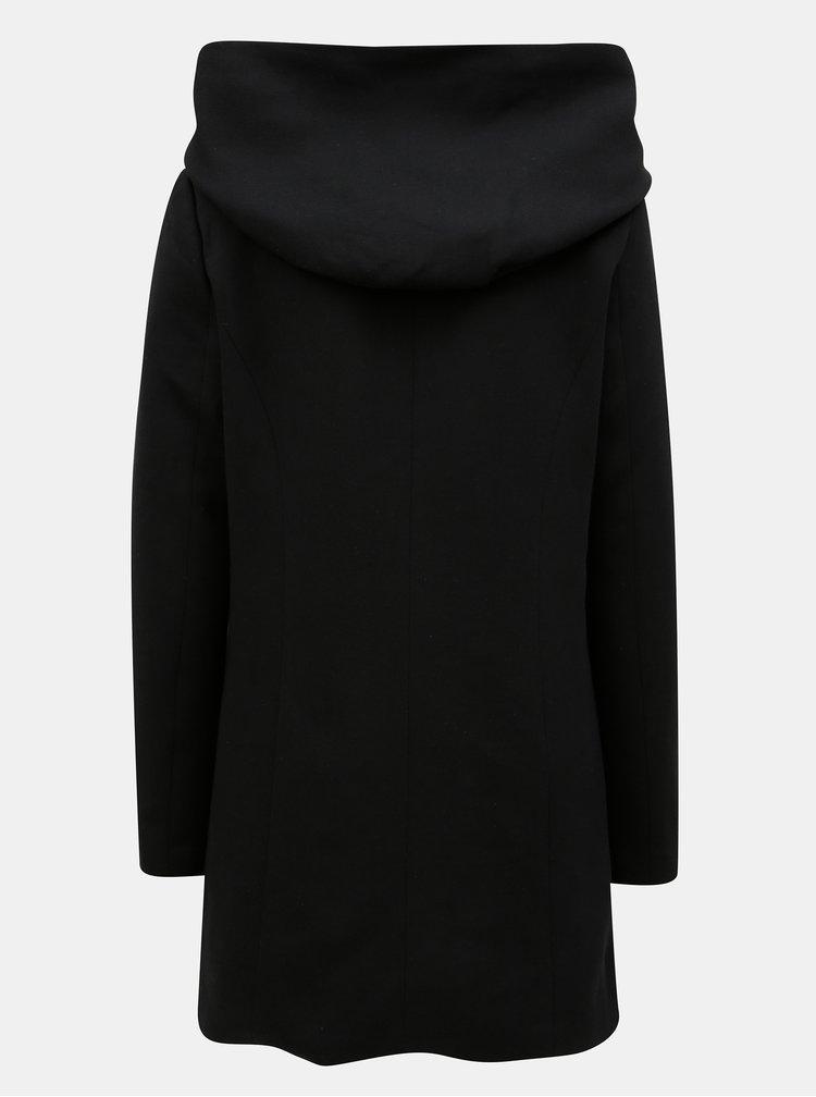 Černá mikinová bunda s kapucí VERO MODA