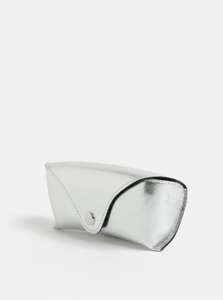 Pouzdro na brýle ve stříbrné barvě ONLY
