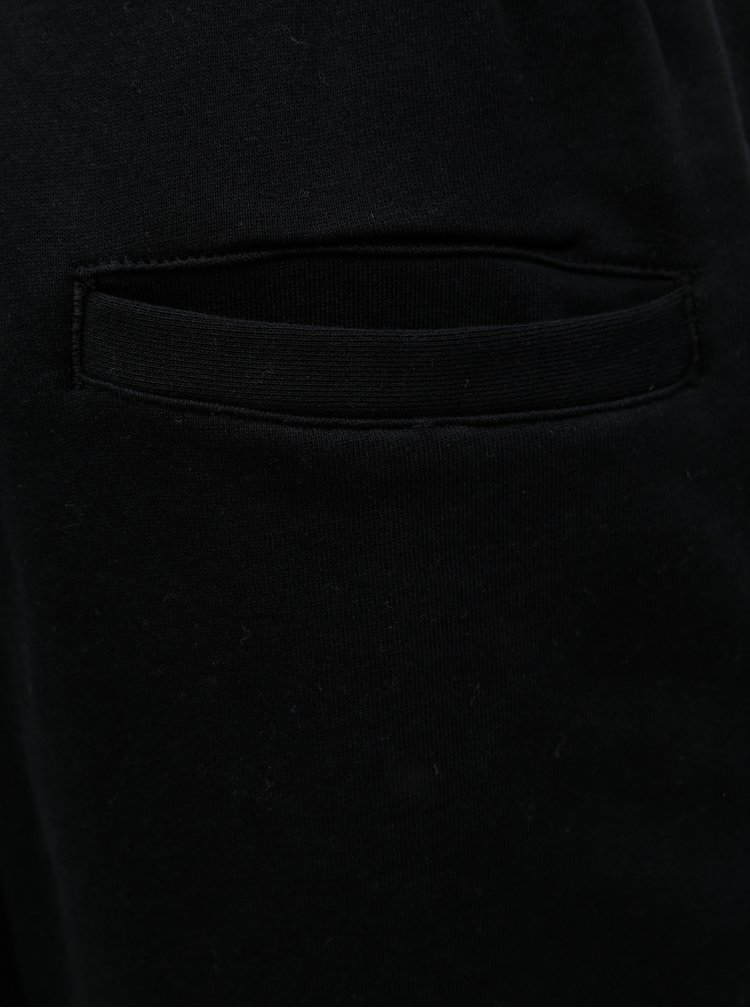 Čierne pánske tepláky s výšivkou Meatfly