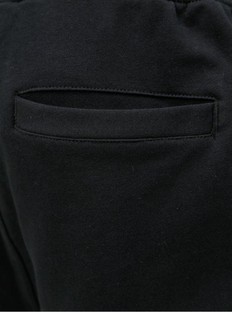 Čierne pánske teplákové kraťasy MEATFLY Chushy