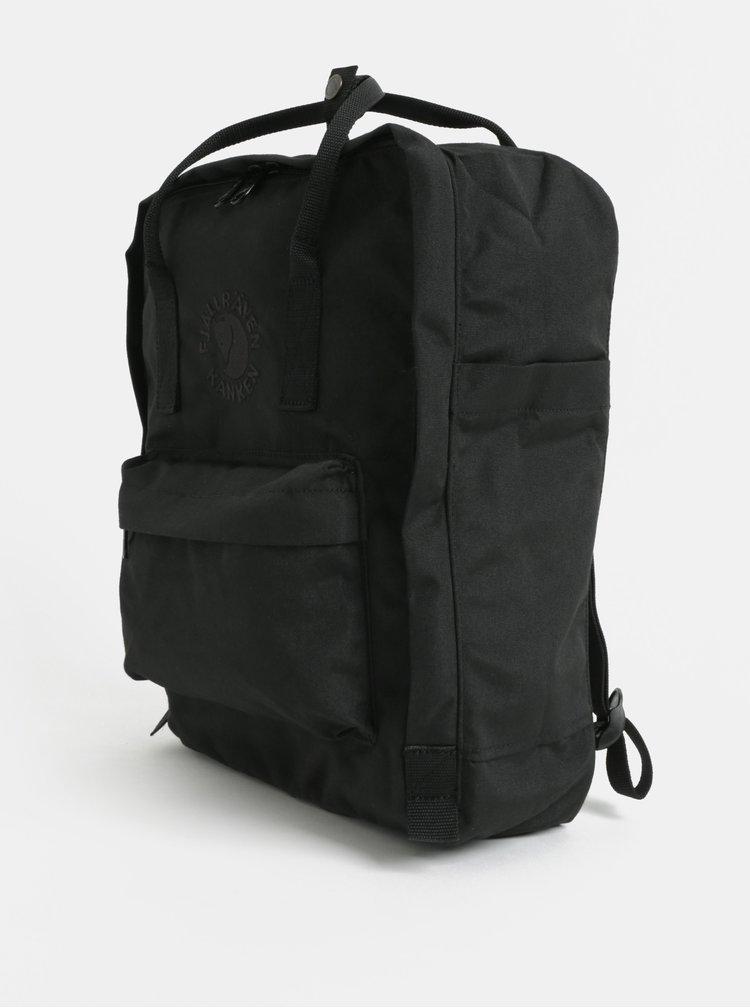Černý recyklovaný batoh Fjällräven Re-Kånken 16 l