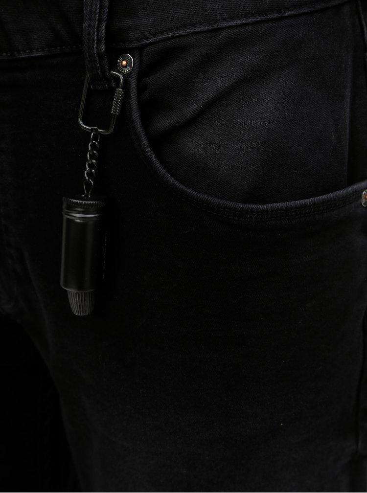 Černé slim fit džíny Dstrezzed