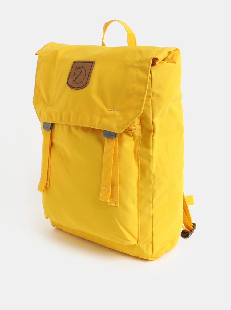 Žltý batoh Fjällräven Foldsack No. 1 16 l