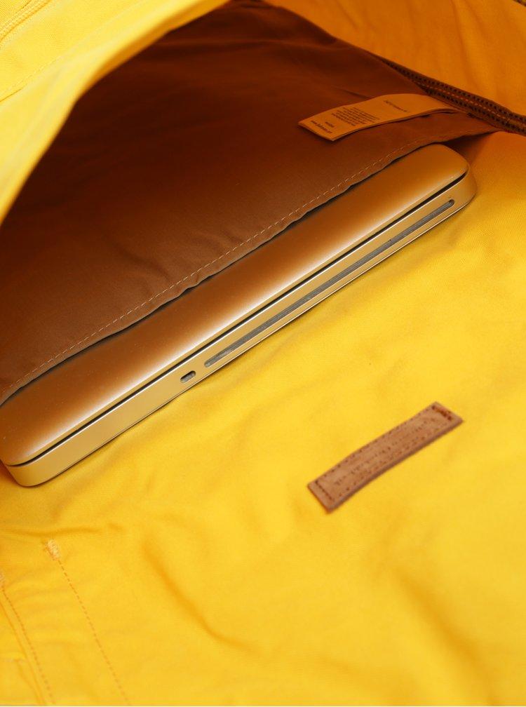 Žlutý batoh Fjällräven Foldsack No. 1 16 l