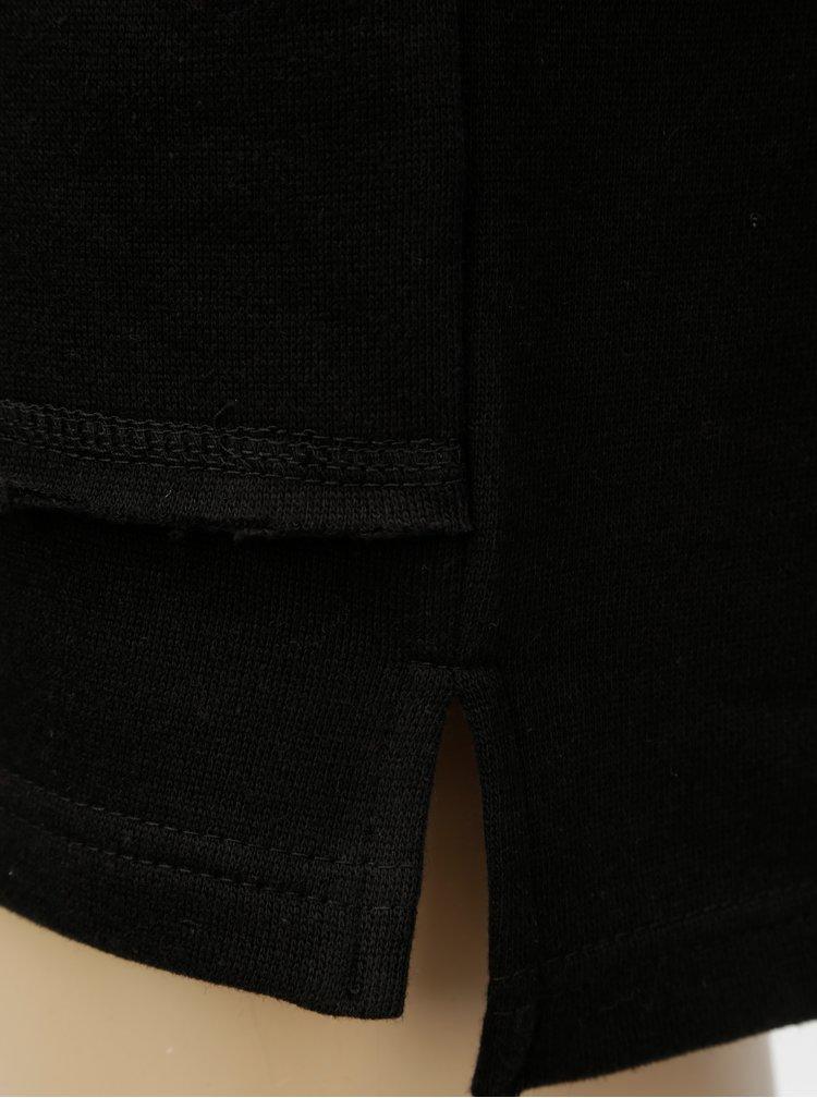 Černá klučičí mikina se stahovací kapucí Blue Seven