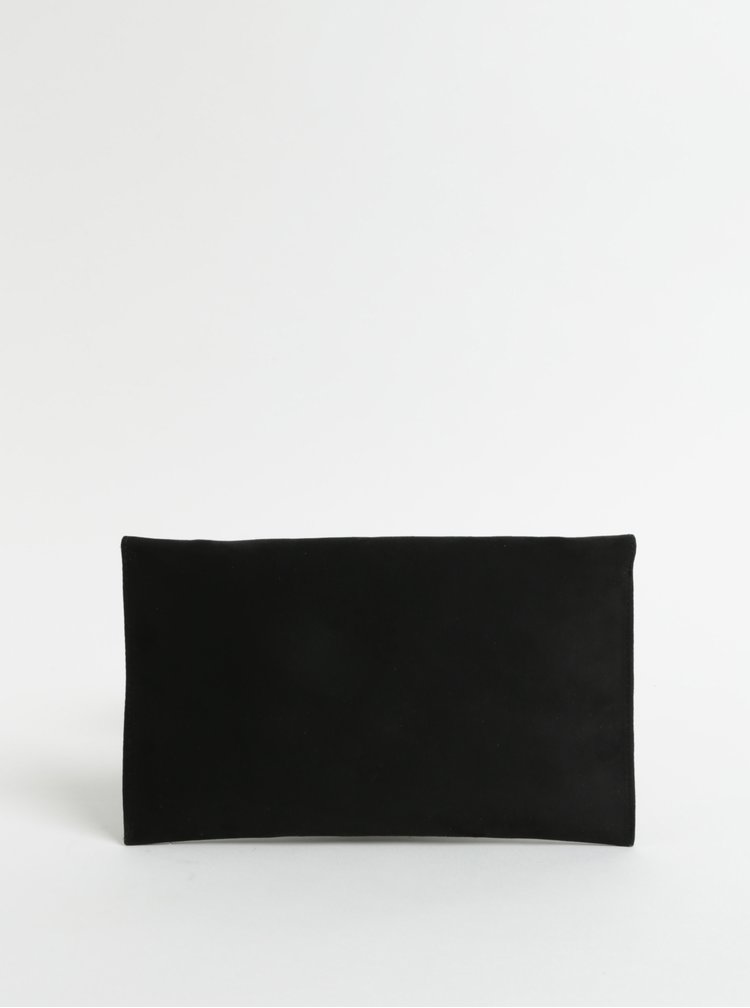 Černé psaníčko v semišové úpravě s ozdobou ZOOT