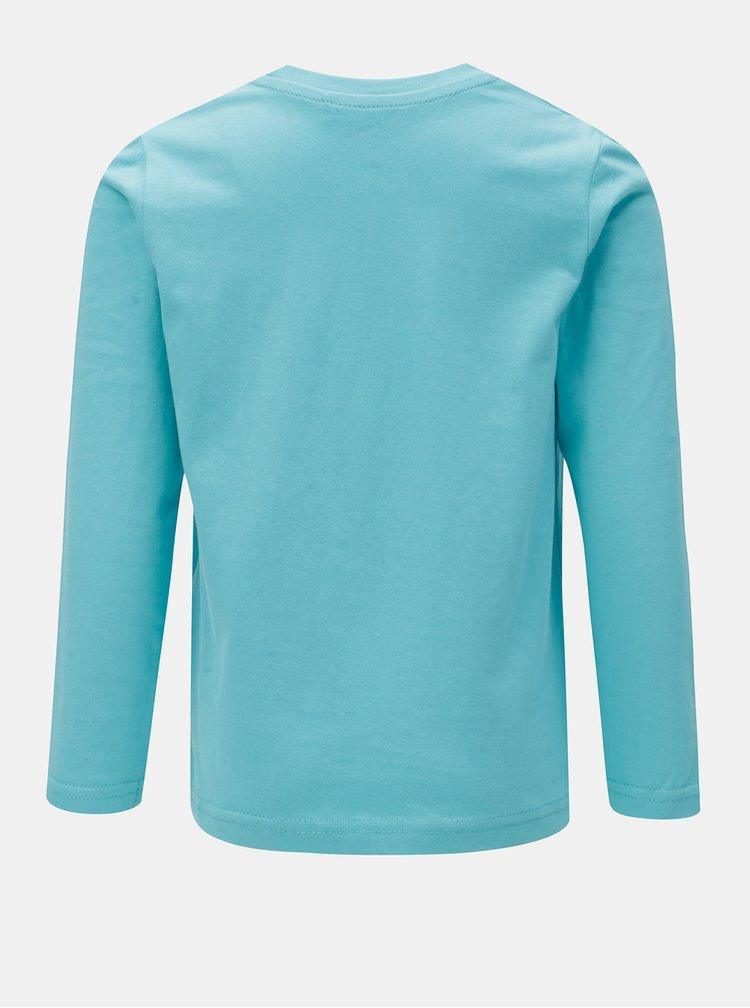 Světle modré klučičí tričko s potiskem Blue Seven