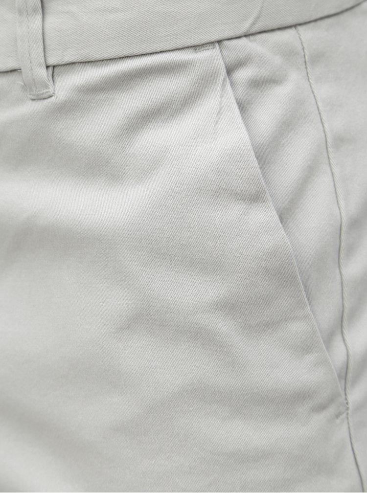 Pantaloni scurti gri deschis chino Burton Menswear London