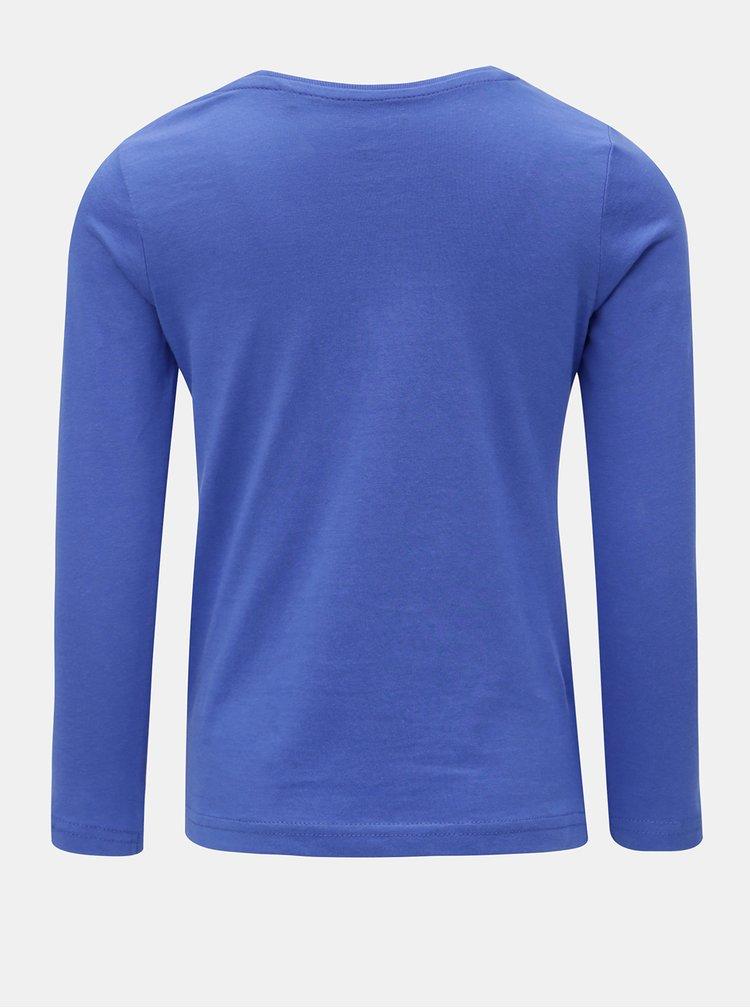 Modré holčičí tričko s potiskem Blue Seven