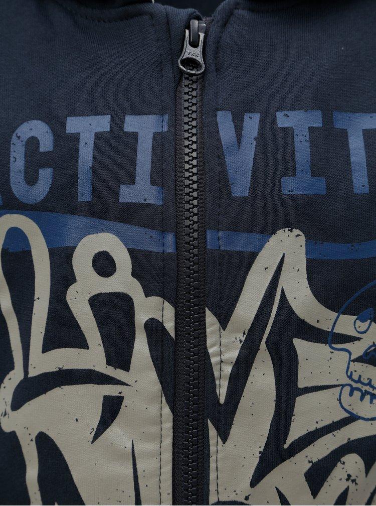 Modrá klučičí mikina Name it Mesa