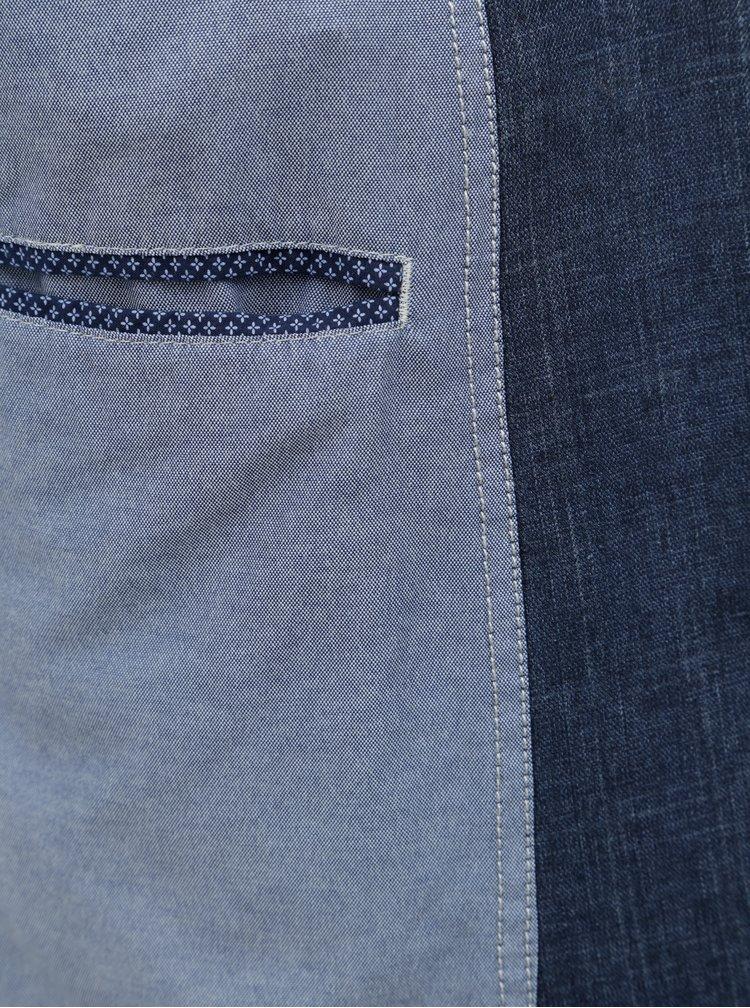 Tmavě modré casual fit sako Fynch-Hatton