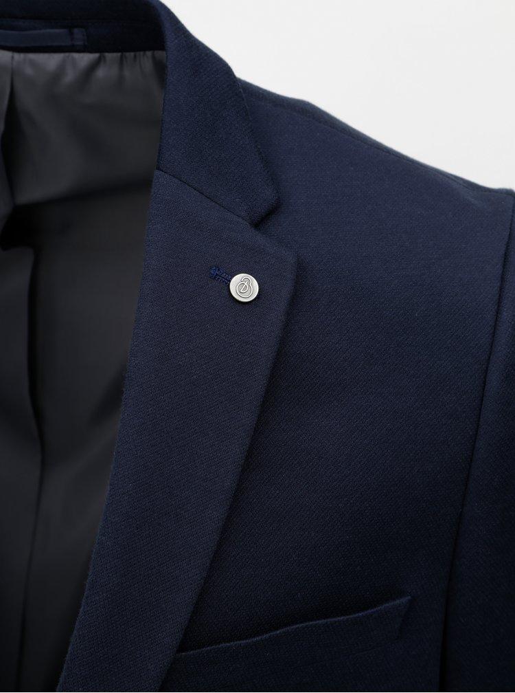 Sacou albastru inchis Burton menswear London