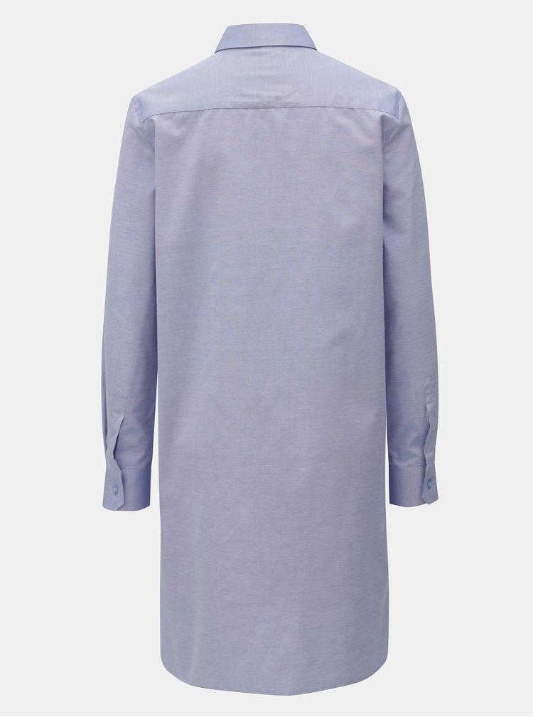 Modré košilové šaty VAVI