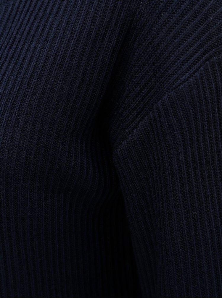 Tmavě modrý volný svetr Dorothy Perkins