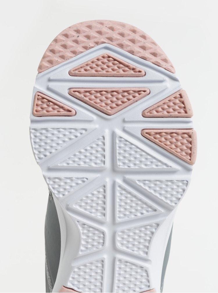 Šedé dámské žíhané tenisky Nike Air Bella Training