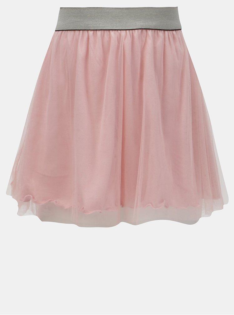 Růžová tylová sukně Blue Seven