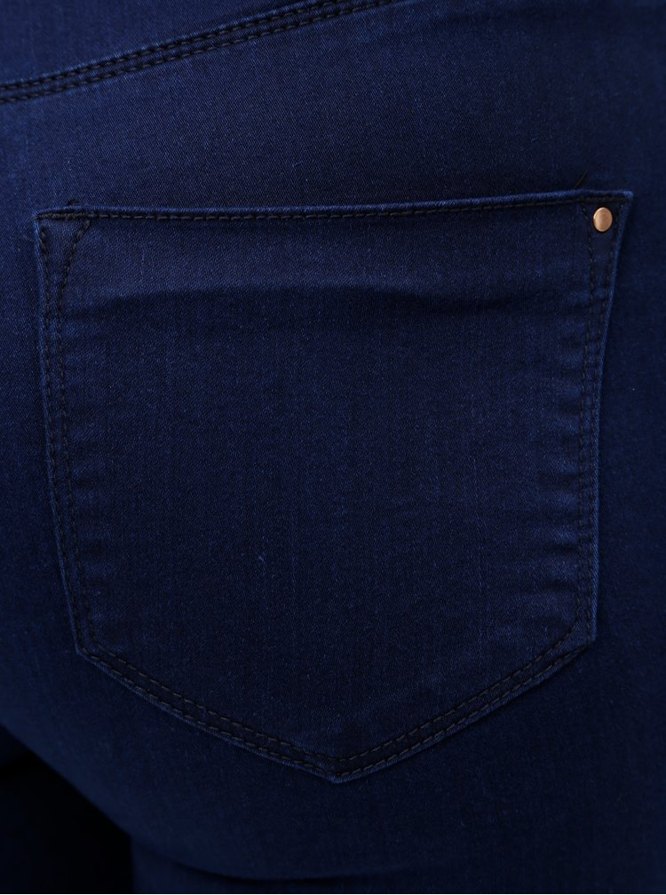 Modré skinny džíny Dorothy Perkins Frankie