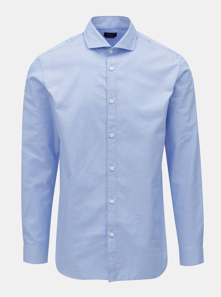 Modrá formální regular fit košile Selected Homme