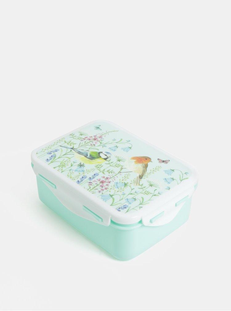 Cutie pranz verde deschis cu de motiv flori Sass & Belle Garden Birds