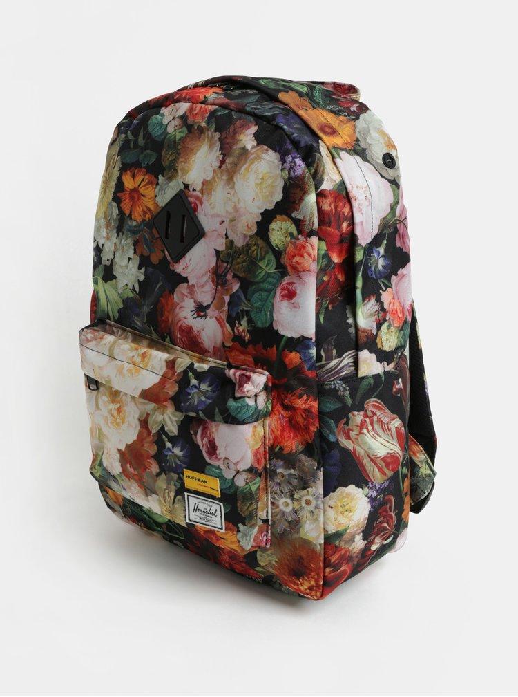 Rucsac de dama colorat cu model floral Herschel Heritage 21,5 l