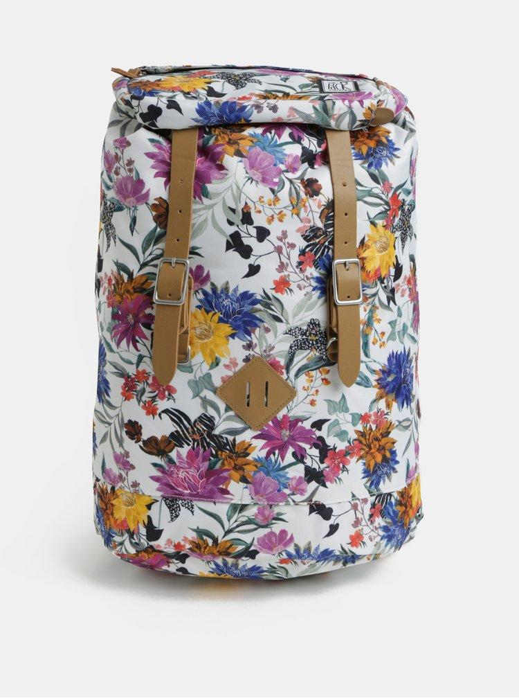 Bílý dámský vzorovaný batoh The Pack Society 23 l