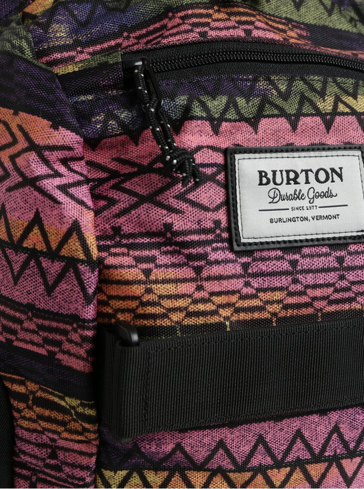 Růžovo-černý holčičí batoh Burton Metalhead 18 l