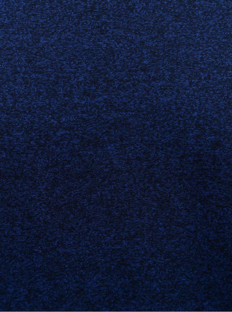 Tricou basic albastru melanj Lindbergh
