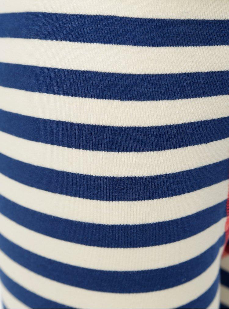 Bílo-modré klučičí podvlékací kalhoty Name it