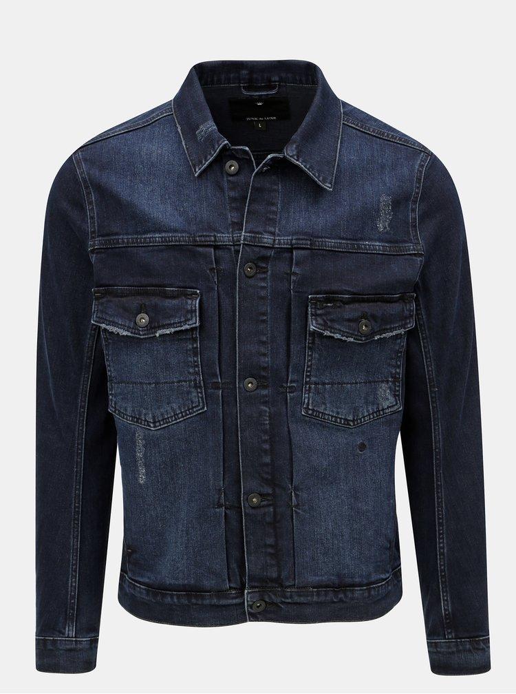 Modrá džínová bunda JUNK de LUXE
