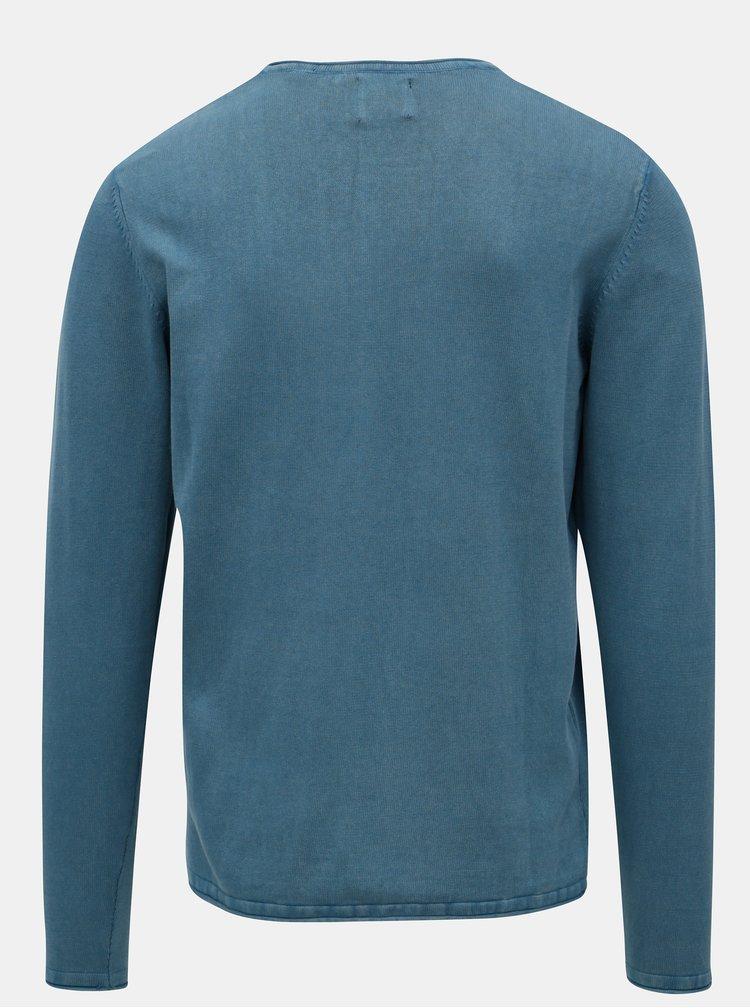 Modrý tenký sveter ONLY & SONS