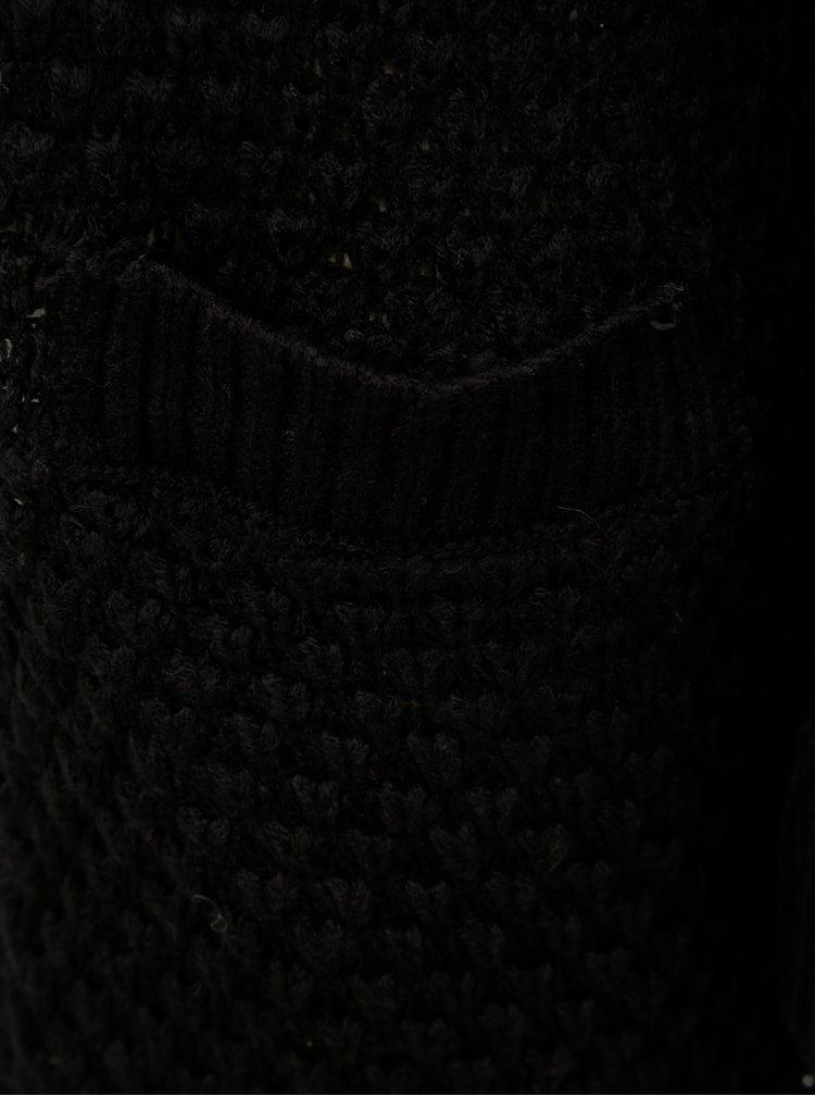 Černý vzorovaný kardigan VERO MODA Mami Surf