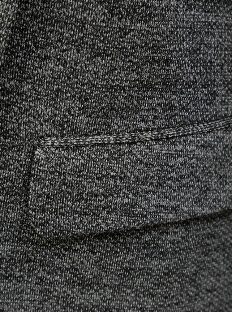 Šedé žíhané sako s kapsami ONLY