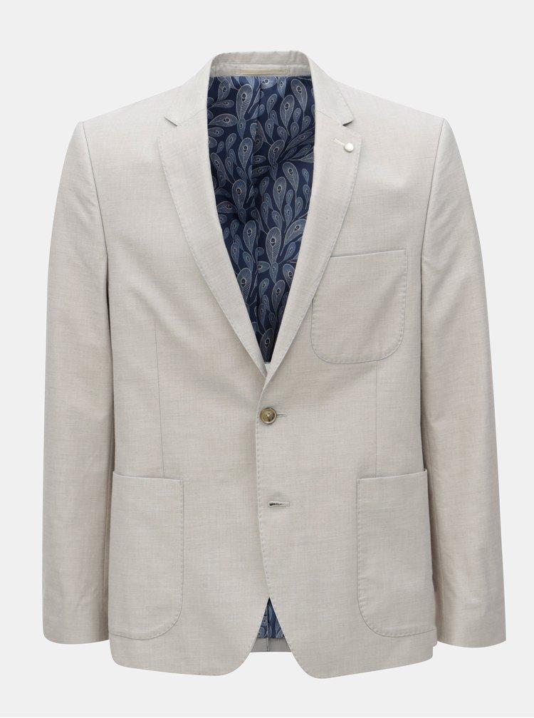 Sacou bej Burton Menswear London