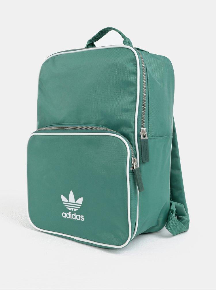 Zelený batoh s potiskem adidas Originals