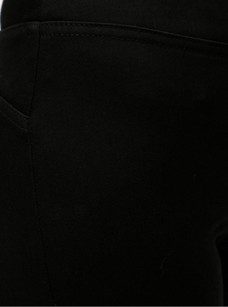 Černé jeggings s vysokým pasem Noisy May