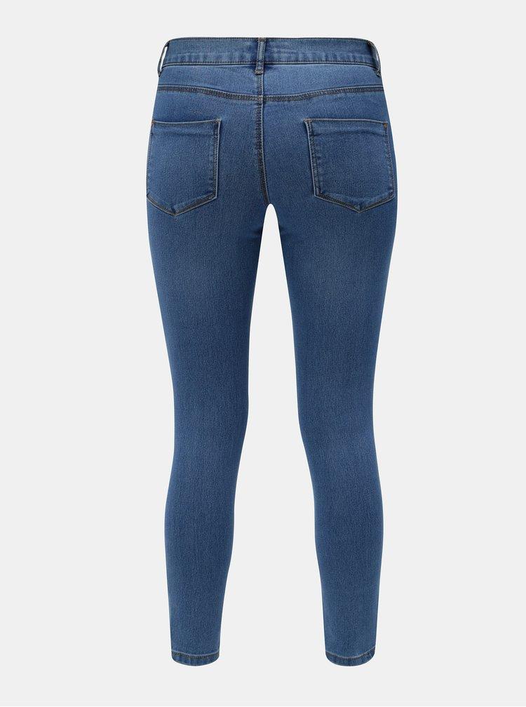 Blugi albastri skinny din denim Dorothy Perkins Petite Frankie