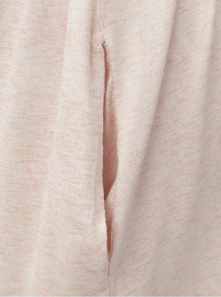 Cardigan roz melanj cu cordon Dorothy Perkins