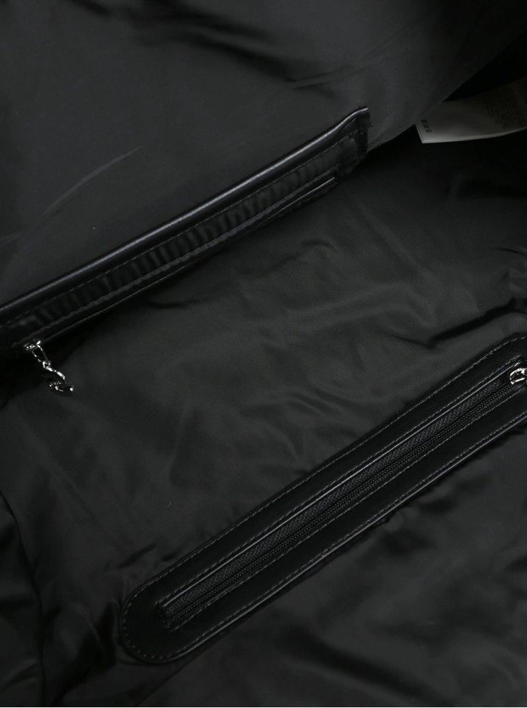 Černá prošívaná kabelka Desigual Philadelphia