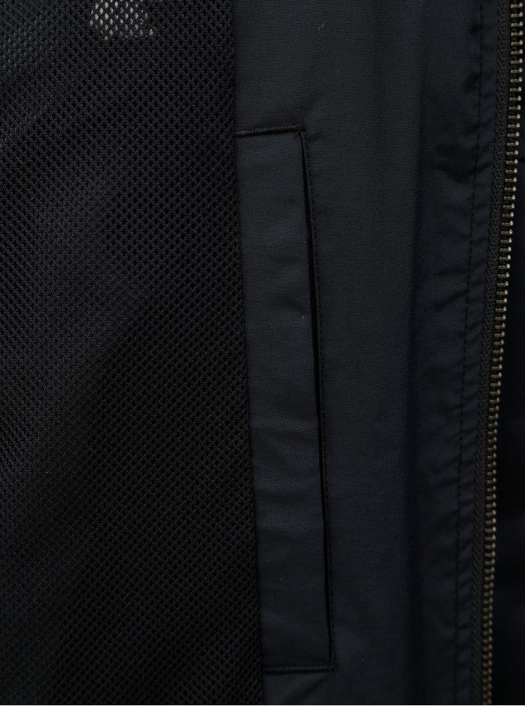 Černá lehká voděodolná bunda Original Penguin Windcheater