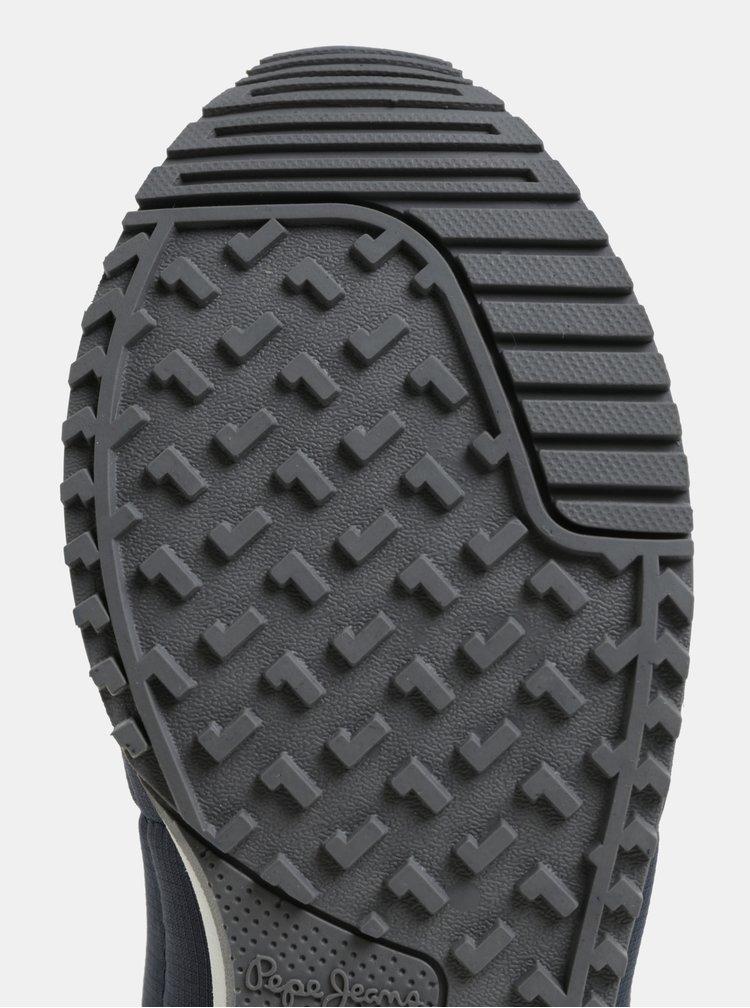 Tmavomodré pánske semišové tenisky Pepe Jeans Tinker